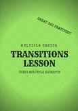 Transition Lesson Using Multiple Excerpts