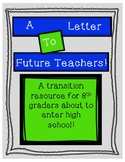 Transition Letter to Future Teachers