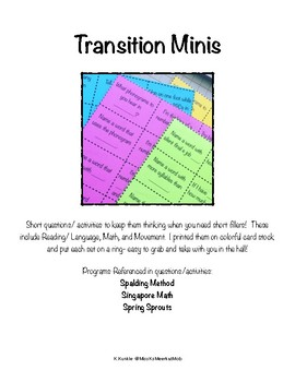Transition Minis