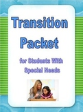 Special Ed Transition Packet; Differentiated Interest Inventories, Job Training