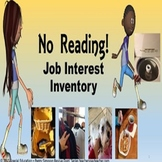 Autism Special Education Transition Plan Vocational No Reading Job Inventory