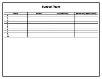 Transition Portfolio Support Team