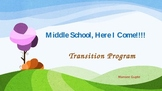 Transition Program- PPT Middle school here i come