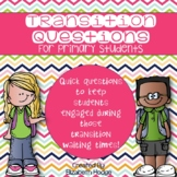 Transition Questions For Primary Students