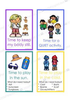 Transition Reminder Cards-BOOSTER PACK