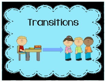 Transition Social Story (Transitions/Transitioning)
