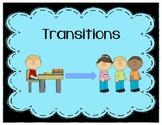 Transition Social Story (Transitions/Transitioning)