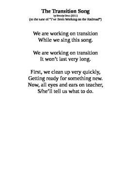 Transition Song