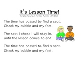 Transition Song - It's Lesson Time