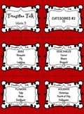 Transition Talk:  Volume 3 - Categories 2