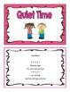 Transition Time Songs and Chant Cards