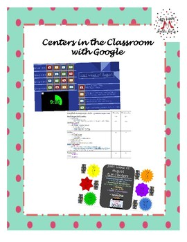ELA & Math Centers with Google