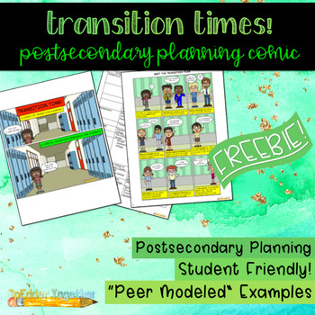 Transition Times!: A Postsecondary Planning Comic