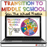 Transition To Middle School Spinner Game | Social Emotiona