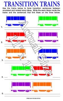Transition Trains English