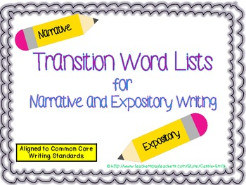 expository essay transition words - Transition Words Essay Writing