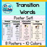 Transition Word Posters (8 Posters!)
