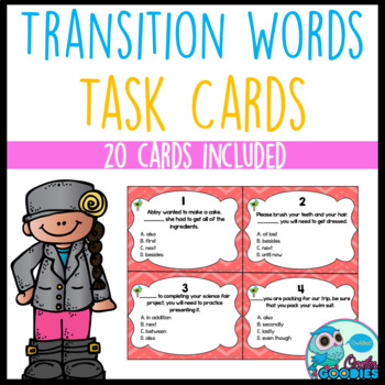 Transition Word Task Cards
