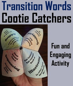 Transition Words and Phrases Activity 4th, 5th, 6th Grade