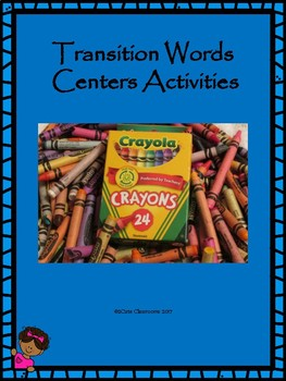 Transition Words Center Activities