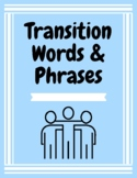 Transition Words   Game   Worksheet   Assessment