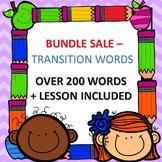 Transition Words: MASSIVE LESSON BUNDLE!