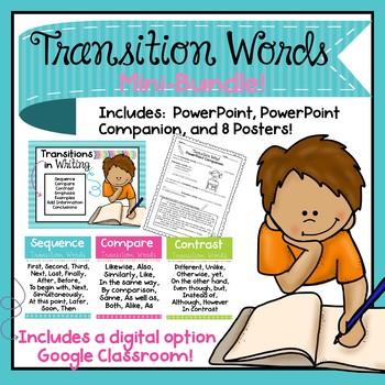 Transition Words Mini-Bundle!