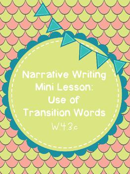 Transition Words Mini Lesson