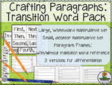 Transition Words Pack for How To, Non-Fiction, Research Writing