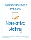Transition Words & Phrases for Narrative Writing