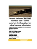 Transition Words & Phrases for Paragraph Development: Seven Different Types