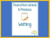 Transition Words & Phrases for Writing