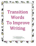 Transition Words To Improve Writing