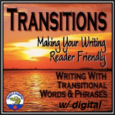 Transition Words and Phrases w/ Easel Activity Distance Learning