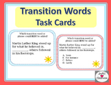 Transition Words and Phrases Task Cards