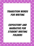 Transition Words for STAAR Writers