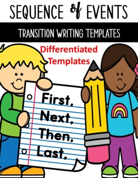 Transition Writing Templates Sequence of Events