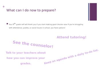 Transition to 9th Grade Presentation