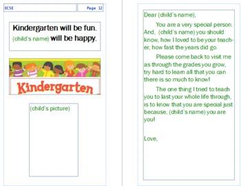 Transition to Kindergarten!