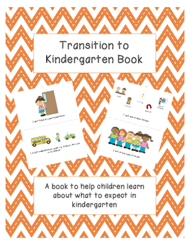 Transition to Kindergarten book