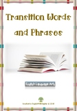 Transition word and phrases