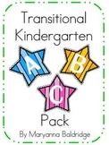 Transitional Kindergarten ABC Pack