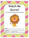 Transitional Kindergarten Data Notebook