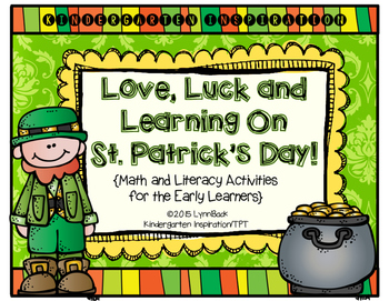 Transitional Kindergarten: Love, Luck and Learning on St. Patrick's Day
