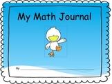 Transitional Kindergarten/Pre-K Math Journal
