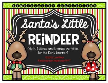 Transitional Kindergarten: Santa's Little Reindeer