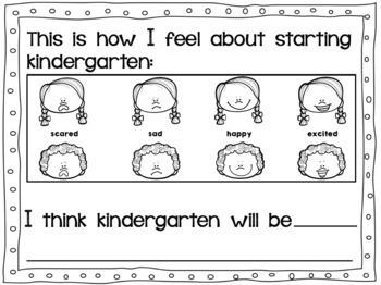 Transitional Kindergarten/ TK Memory Book
