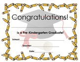 Pre-K, TK, and Kindergarten graduation certificate