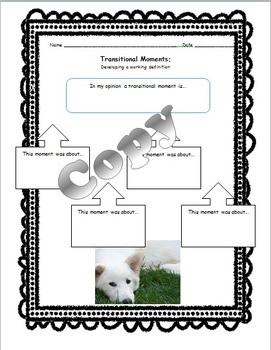 Transitional Moments Introduction