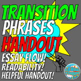 Transitional Phrases